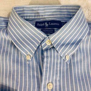 Polo by Ralph Lauren Shirts - Polo Ralph Lauren Blue & White Stripe Shirt 16.5